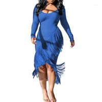 Платья мода нерегулярные тазонные панели женские одежды bodycon платья вскользь осень зима женщин одежда женский дизайнер свитер