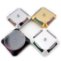1 PC Solar 360 Gramofon Obrotowy Prezentacja Biżuteria Zegarek Zegarek Stojak Biżuteria Akcesoria1