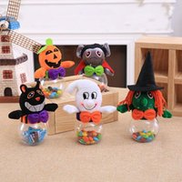 Подарочная упаковка Хэллоуин Candy Jar Chocolate Snuck Cookie Storage Concept Concept Box Tumpkin Witch Ghost Украшения Домашняя вечеринка