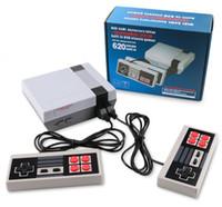 Venda quente Mini TV Video Entertainment System 620-em-1 Classic Jogos Retro Jogos Console para NES Games Wth Controllers Caixa de varejo Embalagem