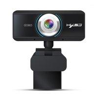 HXSJ S4 HD 1080P Webcam ручной фокус компьютерная камера со встроенным микрофоном видео вызова веб-камеры для ПК портативный компьютер Black1