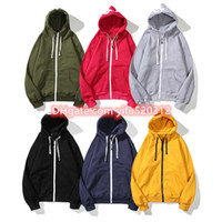 21s Frete Grátis Novo Venda Quente Mens Polo Hoodies e Suéter Outono Inverno Casual com um Hood Sport Jacket Hoodies M-4XL