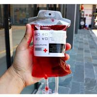 Прозрачный пищевой сорт PVC материал многоразовый энергетический напиток в крови