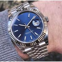 Neue Luxurys Herrenuhr 41mm Edelstahl Uhren Männer Datum 2813 Mechanische Automatische Bewegung Just President Designer Armbanduhren Vakcak