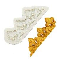 Minsunbak europeu clássico retro em relevo molde de silicone fondant fondant festa decoração decoração ferramentas de chocolate cozimento utensílios 201023