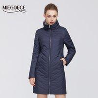 Kadın Coat Yüksek Orta Kalite Firmware Dayanıklı Yaka Şık Kadın Ceket Coat 201.015 itibaren MIEGOFCE Yeni Bahar Koleksiyonu