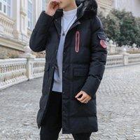 Manteau de la veste d'hiver pour hommes Nouveaukas Parkas Longue Coton Marque Vestes Bombardières APPAYES PARKA HOMME TOPHE CHAUCHE CHAUCHE CHAUCHE DE CHAUFFAGE C212