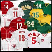 30 Ken Griffey JR 14 Pete Rose Jersey 5 Johnny Benc 11 Barry Larkin 66 Yasiel Puig 17 Chris Sabo Baseball Jerseys