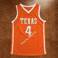 2019 Nuovo # 4 Mohamed Mo Bamba Texas College Basketball Jersey ha reso personale un numero qualsiasi nome XS-5XL