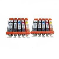 PGI 570 PGI-570 PGI570 PGI-570XL PGI-570BK Cartuchos de tinta para PIXMA MG-6851 MG-6852 MG-6853 MG-7750 MG-7751 Impresora de inyección de tinta1