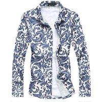 Männer Casual Hemden 2021 Sommer plus Größe M-7XL Männer Kleid Klassisches Design Hohe Qualität Geschäft Langarm Formale Baumwolle