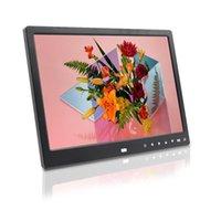 suporte a reprodução em loop player de vídeo jogador imagem 1080P moldura digital moldura digital de 12 polegadas slideshow