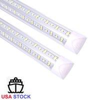 أضواء برودة LED T8 أضواء أنبوب 1ft 2ft 3ft 4ft 5ft 6ft متكاملة أدى أنابيب ضوء AC 110-240V LED أنابيب 8ft ul dlc
