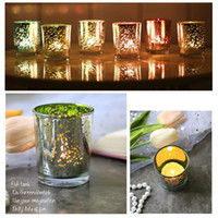 متعدد الألوان زجاج شمعدان اللون المعطرة شمعة كأس مضيئة الشمعدان طاولة الطعام الزفاف ديكور النجوم ليلة شمعة حامل T9I001117