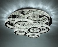 Современные светодиодные люстры светильник из нержавеющей стали хрустальный потолочный светильник для гостиной спальни алмазное кольцо светодиодные Lustres lamparas de techo