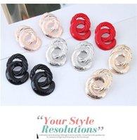8 Серьги формы Выдавливать Сплавные Женщины Женщины Ушные Шпильки Золотая Серебряная Плита Шпилька Мода Ювелирные Изделия Multi Color 1 7SFC L2