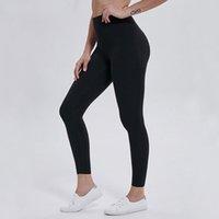 Euoka بلون اللون النساء اليوغا السراويل عالية الخصر الرياضة رياضة ارتداء طماق مرونة اللياقة سيدة الشاملة الجوارب الكامل تجريب الحجم