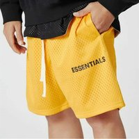Muscle Brothers Sports Fitness Fitness Foge Essentials Double String String Maille Crowstring Lettre Capris Hommes Shorts