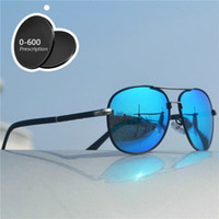 Prescription - 1. 0 TO - 6. 0 Finished Polarized Myopia Sunglass...