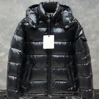 Men winter jacket comfortable soft down jacket 90% goose cas...