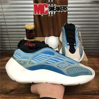 أعلى جودة Azael Alvah Eremiel 700 V3 رجل WEEMENS الاحذية Srimarth Arzareth Foam Runner الثلاثي الأسود الرجال الرياضة المدرب حذاء مع صندوق الحجم 36-48 يورو