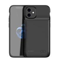 4800mah 아이폰 (12)에 대한 전원 은행 케이스 충전기 새로운 백업 전원 은행 아이폰 12 MINI 프로 맥스