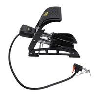 Bisiklet Pompaları Taşınabilir Ayak Hava Şişirme Pompası Ile LED Ölçer Yüksek Basınçlı Çelik Bisiklet Motosiklet MTB Araba Bisiklet Için Şişme A
