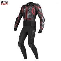 Wosawe motocicleta jaqueta homens corpo inteiro armadura motocross motocross racing moto jaqueta montando moto quadril pads proteção1
