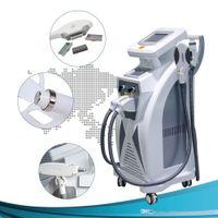 2020 Nova tela dupla 4 in1 multi-função IPL Laser Laser Remoção De Cabelo De Cabelo De Cabelo De Pele Cuidados da Pele Cuidados Máquina para venda e frete grátis