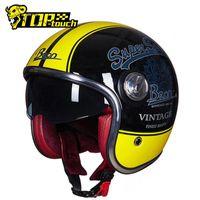 오토바이 헬멧 Beon 헬멧 오픈 페이스 Casco Moto 레트로 하프 오토바이 경주 Off Road Moto1