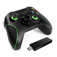 2.4G HZ Receptor Wireless Bluetooth Joystick GamePad Controlador de juegos para Xbox One PS3 PC Android