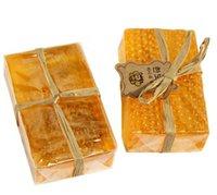 90 g 100% Honeo Handma Honey Soap Blanqueamiento Peeling Glutathione Arbutin Honey Kojic Acid Soap Envío gratis Wholesale Envío gratis