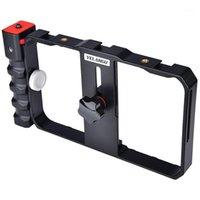 Stabilisants Yelangu Pro Smartphone Vidéo Plan de film Filmming Case Stabilisateur Stabilisateur Grip Support pour XS Max XR Plus Huawei1
