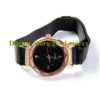 Мода женщина Bling Starry Sky Dial Magnet Fabric Bracte Watch Headies Mineral стекла Часы Леди Кварцевые Женщины Наручные часы AA00221
