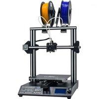 Geeetech a20m Impressora 3D com impressão colorida de mistura, design integrado de construção dupla e detector de filamentos