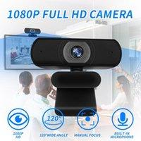 베스트 셀러 2020 HD 1080P 카메라 웹캠 와이드 스크린 비디오 웨어러블 장치 용 데스크탑 노트북 웹캠