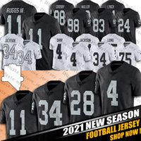 라스베가스 헨리 리그 Bo Jackson Jersey Darren Waller Maxx Crosby Jerseys Clelin Ferrell Hunter Renfrow Jersey Jason Witten Football Jersey
