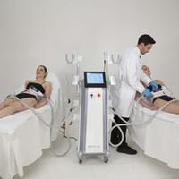 أداة التخسيس ألمانيا Cryolipolysis Shockwave Therapy Cool Tech Fat Freezing آلة تجميد 4 مقابض متعددة الوظائف