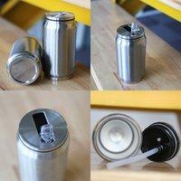 12 oz paslanmaz çelik kola kutular kupa soda olabilir kahve kola bardaklar içecek olabilir çift vakum yalıtımlı su fincan kok kavanoz saman 230 g2