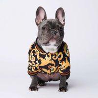 Luxushundkleid-Mantel-Halsbänder plus dicke warme Herbst- und Winter-Teddy-Gesetze-Eimer-Corgi-gesteppte Haustier-Kleidung Jacke