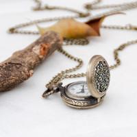 Negro tamanho pequeno aranha web relógio relógio colar de ouro coroa relógio relógio colar vintage jóias coreanas edição camisola moda moda wat