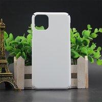 3D-PC-Sublimations-Handy-Fälle für iPhone 11 PRO max Mattfarbe Vier Caer Schutzheizübertragungskoffer