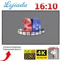 Projektionsbildschirme Lejiada Projektor SCREEN30 50 60 72 84 100 120 zoll 16:10 4k HD Faltbare tragbare Filme Bildschirmtheater im Freien Indoor1