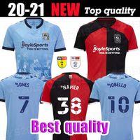 2020 2021 Coventry City Futbol Formaları Ostigard Jobello Walker McCallum Da Kosta Hamer 20 21 Ev Mavi Futbol Gömlek Tayland Boyutu S-XXL