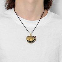Калифорнийская карта Beychain Gold Badge Keychains Соединенные Штаты Карта Кулонники Мужчины Ожерелье Ювелирные Изделия Рождественские подарки Сувенирная оптом1