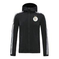 2020 Algeria National Giacca National Giacca con cappuccio Giacca a vento Tracksuits Soccer Jerseys Giacche con cappuccio con cappuccio Sport Sports Cappotto invernale Giacche da corsa