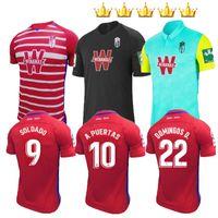2020 2021 غرناطة لكرة القدم جيرسي 20 21 الصفحة الرئيسية Away الثالث Soldado Herrera Antonio Puertas Vadillo Camiseta de Fútbol الفانيلة قمصان كرة القدم