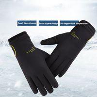 Mann-Winter-warme Handschuhe plus Samt Thicked windundurchlässige wasserdichte Reit Bequeme Handschuhe Sensitive Fingertip Touch Screen Handschuhe KKA1722