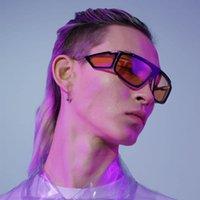 New Machine Punk Design Multiple Linsen Goggles Sonnenbrille Mode Neuheit Eyewear Auto Fenster Stil Coole Brillen
