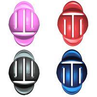 라인 볼 드로잉 장치 솔리드 컬러 ABS 단순성 핸드 헬드 마커 스크 리버 골프 용품 패션 새로운 도착 1 3 ZY P2